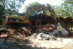 Complete Residential Demolition San Jose CA (During)