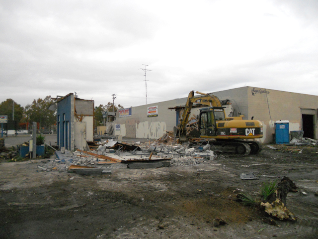 Commercial Building Demolition