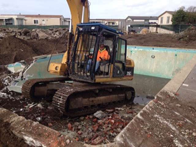 Pool Demolition Palmetto CA