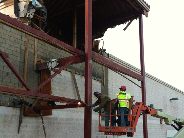 Demolition in Visalia CA